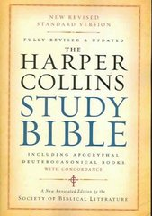 The Harper Collins Study Bible 1st Edition 9780061228407 0061228400