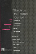 Standards for Thermal Comfort 1st Edition 9781135273514 1135273510