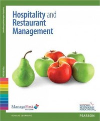 ManageFirst: Hospitality and Restaurant Management with Answer Sheet 2nd Edition 9780132116138 0132116138