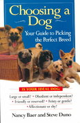 Choosing a dog: your guide to picking the perfect breed nanc 0 9780425149584 0425149587
