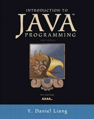 Introduction to Java Programming, Brief Version 9th Edition 9780132923736 0132923734