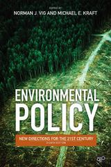 Environmental Policy 1st Edition 9781483352572 1483352579
