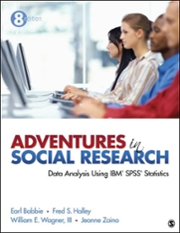 Adventures in Social Research 8th edition 9781452205588 1452205582