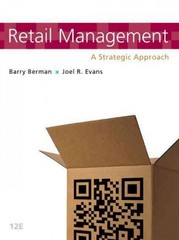 Retail Management 12th Edition 9780132720823 0132720825