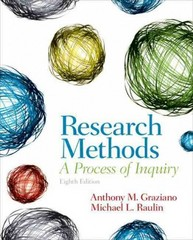 Research Methods 8th edition 9780205907694 0205907695