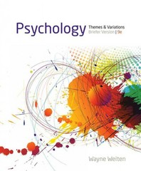 Psychology 9th edition 9781133939061 1133939066
