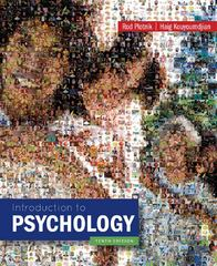 Introduction to Psychology 10th Edition 9781133939535 1133939538