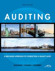 Auditing 9th edition 9781285687520 1285687523