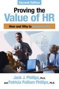 Proving the Value of HR 2nd edition 9781586442316 1586442317