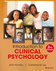 Introduction to Clinical Psychology 2nd Edition 9781118360019 111836001X