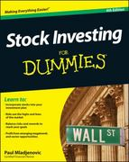 Stock Investing For Dummies 4th Edition 9781118376782 1118376781