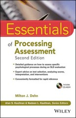Essentials of Processing Assessment 2nd Edition 9781118368206 1118368207