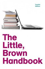 The Little, Brown Handbook with NEW MyCompLab with eText -- Access Card Package 12th edition 9780321846051 0321846052