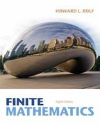 Finite Mathematics 8th edition 9781285415611 1285415612