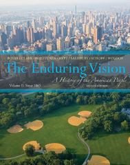 The Enduring Vision 8th edition 9781133945222 1133945228