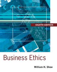 Business Ethics 8th Edition 9781133943075 1133943071