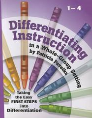 Differentiating Instruction 1st Edition 9781935258032 1935258036