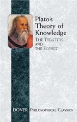 Plato's Theory of Knowledge 0 9780486427638 0486427633