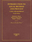 Introduction to Legal Method and Process 4th edition 9780314161987 0314161988