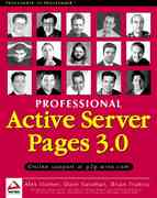 Active Server Pages 3.0 0 9781861002617 1861002610