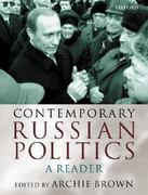 Contemporary Russian Politics 0 9780198299998 0198299990