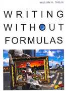 Writing Without Formulas 1st edition 9780618382187 0618382186