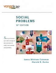 Social Problems, VangoBooks 10th edition 9780132448451 0132448459