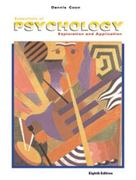Essentials of Psychology 8th edition 9780534362911 0534362915