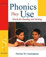 Phonics They Use: Words for Reading and Writing 5th edition 9780205608881 0205608884