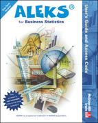 ALEKS Bus Stat Access Card - 1 sem Standalone 1st edition 9780072857757 0072857757