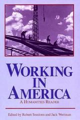 Working In America 1st edition 9780268019488 0268019487