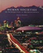 Human Societies 8th edition 9780072891324 0072891327