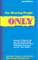 For Hearing People Only 2nd Edition 9780963401618 0963401610