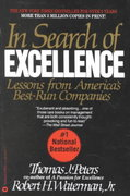 In Search of Excellence 1st Edition 9780446385077 0446385077
