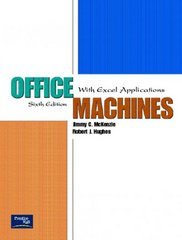 Office Machines 6th Edition 9780130486882 0130486884