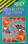 CliffsQuickReview Differential Equations 1st edition 9780822053200 0822053209