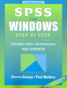 SPSS for Windows Step by Step 3rd Edition 9780205331277 0205331270