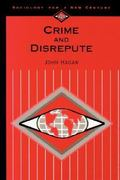 Crime and Disrepute 0 9780803990395 0803990391