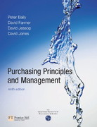 Purchasing, Principles and Management 9th edition 9780273646891 0273646893