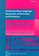 Understanding Language Structure, Interaction, and Variation 0 9780472086863 0472086863