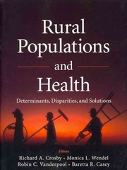 Rural Populations and Health 1st Edition 9781118004302 1118004302