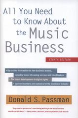All You Need to Know About the Music Business 8th Edition 9781451682465 1451682468