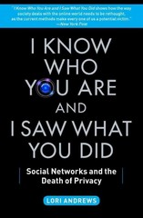 I Know Who You Are and I Saw What You Did 1st Edition 9781451651058 1451651058
