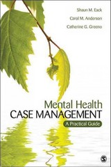Mental Health Case Management 1st Edition 9781452235264 1452235260