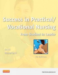 Success in Practical/Vocational Nursing 7th edition 9781455703357 1455703354