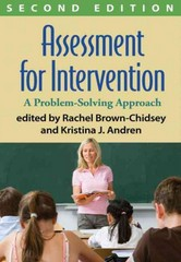 Assessment for Intervention, Second Edition 2nd Edition 9781462506873 1462506879