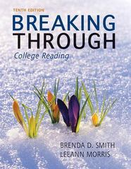 Breaking Through: College Reading Plus NEW MyReadingLab with eText -- Access Card Package 10th Edition 9780321761163 0321761162