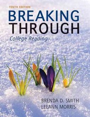 Breaking Through 10th Edition 9780205193240 0205193242