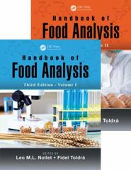 Handbook of Food Analysis, Third Edition - Two Volume Set 3rd Edition 9781466556546 1466556544