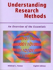 Understanding Research Methods 8th edition 9781936523009 1936523000
